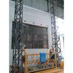 10m pinagagana aluminyo lubid suspendido platform zlp1000 solong bahagi 2 * 2.2kw