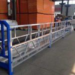 magandang presyo na sinuspinde ang platform / suspendido gondola / suspendido duyan / suspendido scaffolding na may ce at iso sertipiko