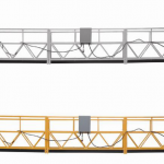 3 phase rope suspendido platform hot galvanized 7.5m zlp800a para sa wall painting