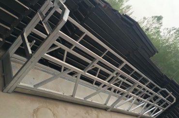 zlp630 / 800 ll hugis aluminyo haluang metal, konstruksiyon ng bakal na sinuspinde ang nagtatrabaho platform na pag-angat sa mga bintana ng gusali