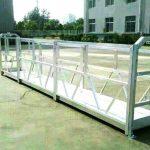 ibang modelo ng electric construction working platform cradle hoist