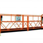 2.5mx 3 seksyon 1000kg suspendido access platform pag-aangat bilis 8-10 m / min
