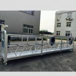 adjustable aluminum haluang metal lubid suspendido platform zlp 800 para sa refurbishing / pagpipinta