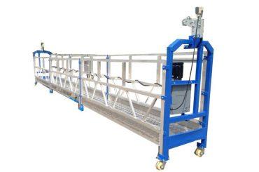 500 kg 2 m * 2 seksyon aluminyo haluang metal nasuspinde access kagamitan zlp500